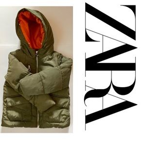 Zara Girls Puffer Jacket